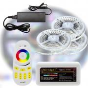 Mi-Light RF RGBWW 5050-60 LED szalag szett 15m