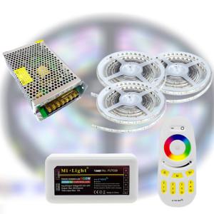 Mi-Light RF RGBDW 5050-60 LED szalag szett 15m