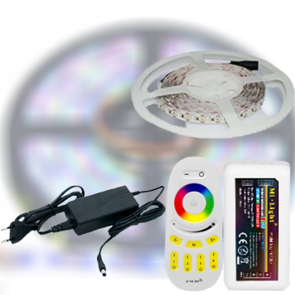 Mi-Light RF RGB 5050-60 LED szalag szett 5m
