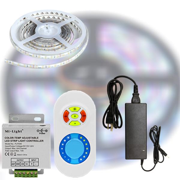 Mi-Light Single Color LED szett 3014-204 Fehér fény 5m