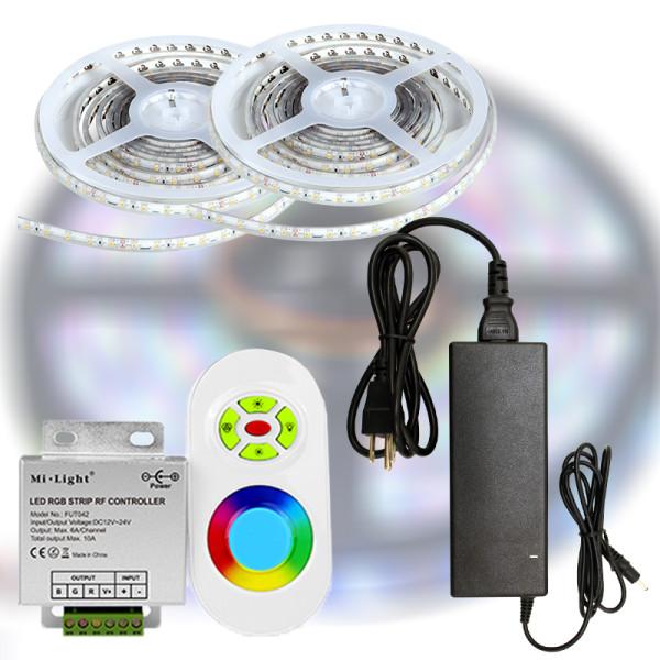 Mi-Light START RF RGB 5050-30 LED szalag szett 10m