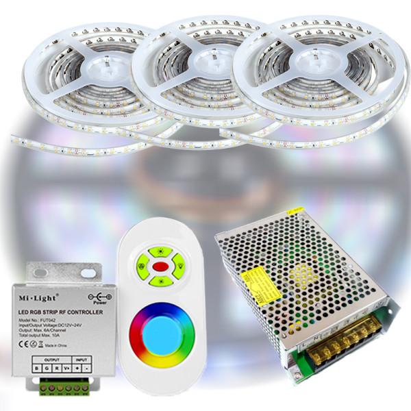 Mi-Light START RF RGB 5050-30 LED szalag szett 15m