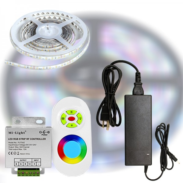 Mi-Light START RF RGB 5050-60 LED szalag szett 5m
