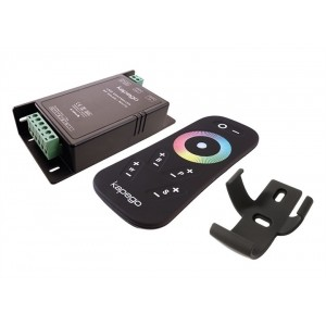 RGB+W színes és fehér rádiós LED szalag vezérlő távirányítóval