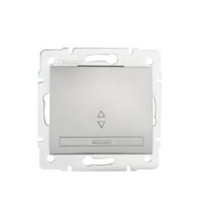 DOMO Alternatív váltó kapcsoló   , ezüst