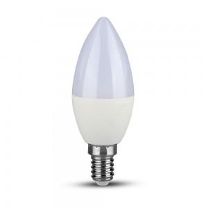 V-TAC gyertya LED égő Samsung Chip E14 7W 3000K 600lm