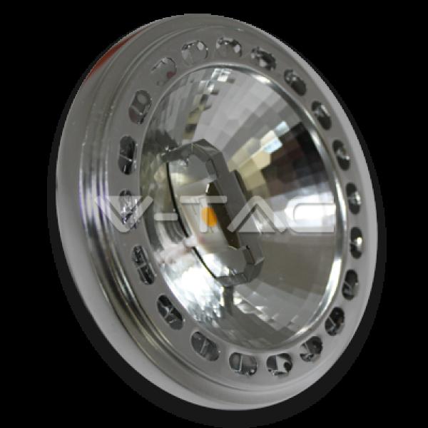 LED lámpa , 12V DC , AR111 foglalat , 15 Watt , 40° , természetes fehér