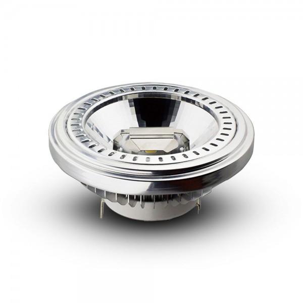 LED lámpa , 12VAC , AR111 foglalat , 15 Watt , 40° , természetes fehér