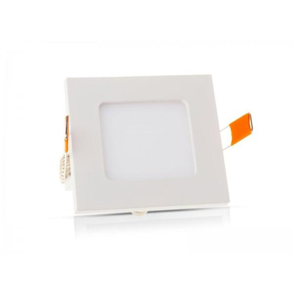ECO LED panel, négyzet, 6W, hideg fehér
