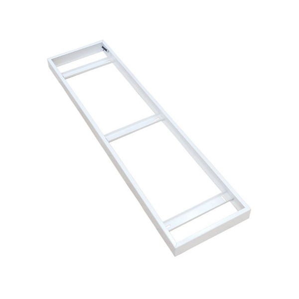 V-TAC LED panel kiemelő keret 1200x300x55 mm fehér
