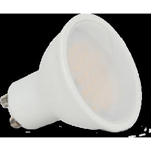 LED lámpa , égő , szpot , GU10 foglalat , 110° , 5 Watt , meleg fehér , Optonica