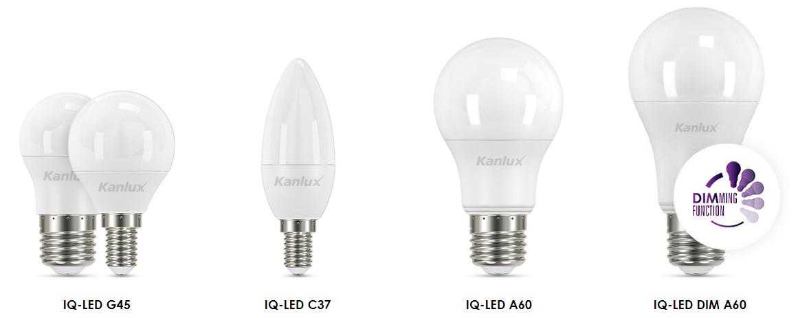 Kanlux LED égő típusok - energiahaza.hu
